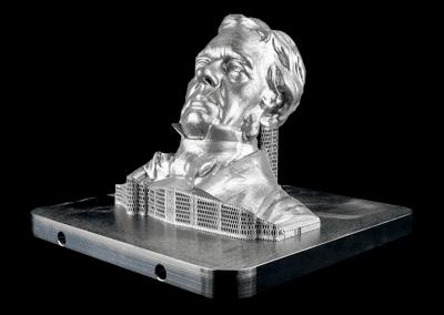 Faraday Bust
